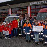 """""""Partner der Feuerwehr"""" unterstützt Jugendarbeit von Feuerwehr und DRK"""