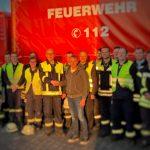 """Lokaler Unternehmer überreicht als """"Dankeschön"""" eine Geldspende an den Förderverein der Feuerwehr Siershahn"""