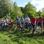 Gemeinsame Fahrradtour bei schönstem Sommerwetter