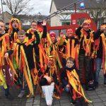 Siershahn Helau - Jugendfeuerwehr beim Karnevalsumzug mit dabei