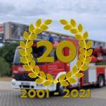 20-jähriges Dienstjubiläum der DLK 23/12